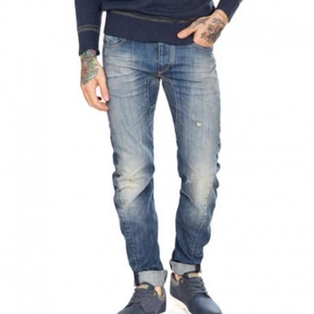 Jeans uomo DOLAN J987 FIFTY FOUR 29 32 34 pantalone skinny fit uomo man