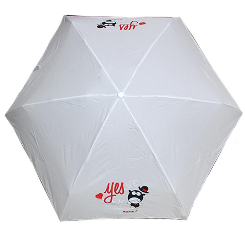 Bambini ombrello blu//bianco NUOVO OMBRELLO Ombrello Umbrella